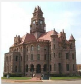 The historic Wise County Courthouse